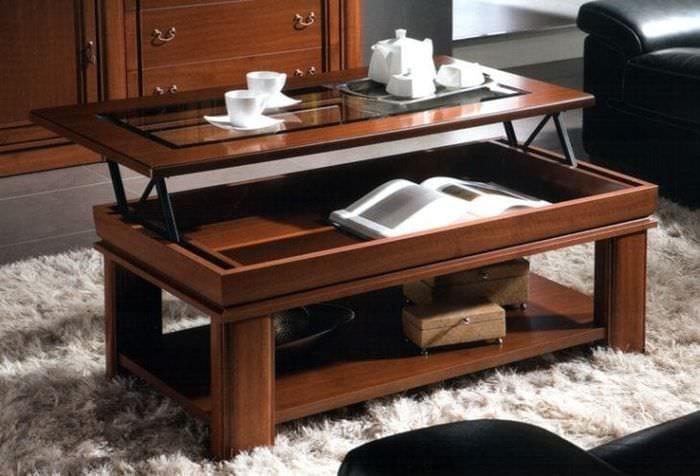 Выбираем стол – трансформер для комфортного времяпрепровождения