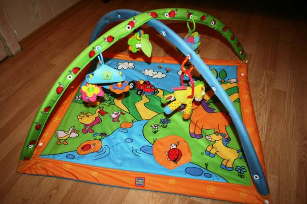 Развивающий коврик своими руками для детей от 0 до 3 лет