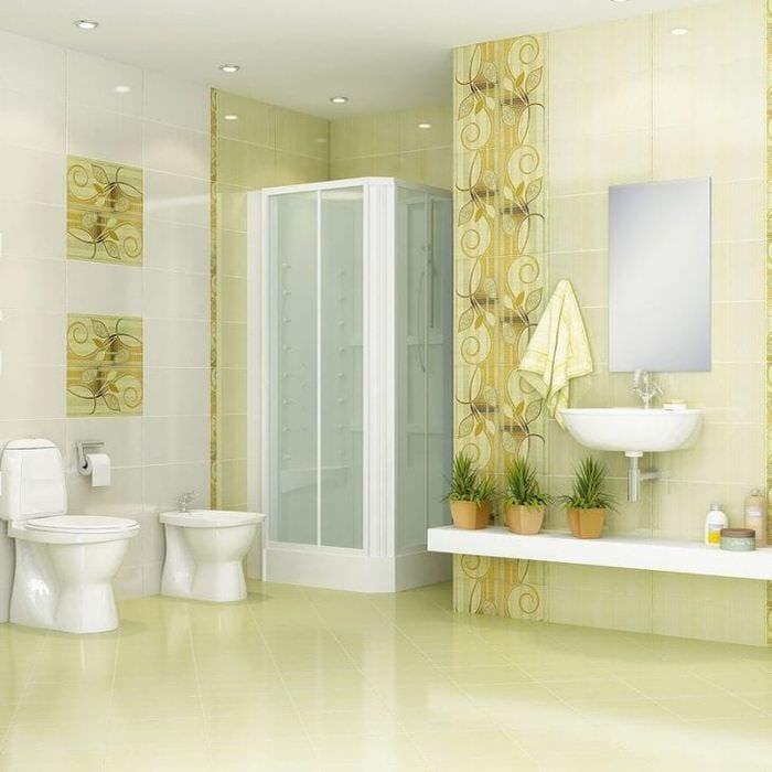 Дизайн ванных комнат и облицовка их плиткой