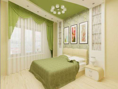 Цветовые решения для маленькой спальни 10 кв м