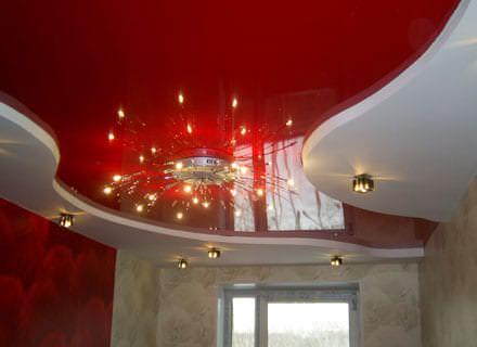 Какой потолок называют натяжным?