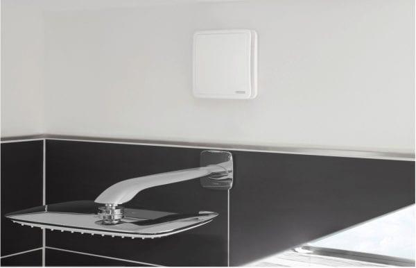 современный вентилятор с датчиком влажности