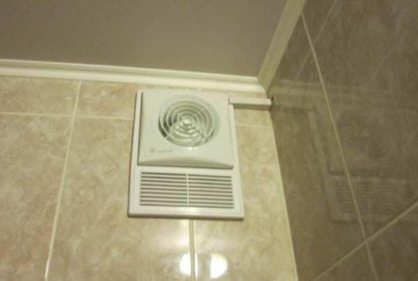 вытяжной вентилятор с полутвердой коробкой