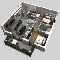 3d дизайн комнаты картинка