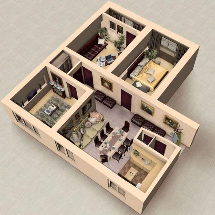 3d дизайн дома