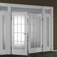 яркие двери в интерьере с оттенком лимонного фото