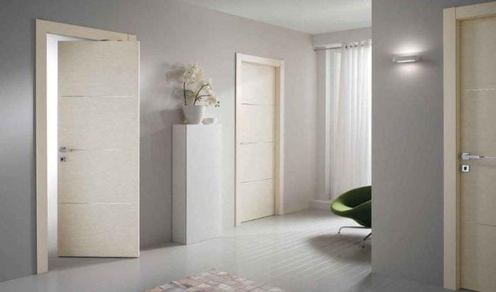 белые двери в интерьере 75 фото идей дизайна