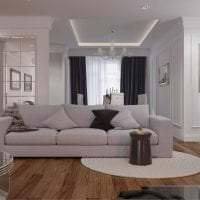 белый диван в интерьере спальни фото