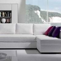 светлый диван в стиле коридора картинка