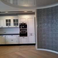 белый плинтус из алюминия в интерьере комнаты картинка