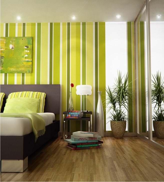 светлая спальня комната дизайн