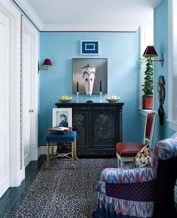 яркая гостевая комната дизайн