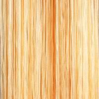 светлые шторы нити в стиле спальни картинка