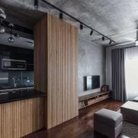 отделка потолка с бетоном в квартире картинка