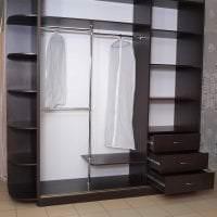 стиль шкафа в прихожей из мдф картинка