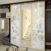 дизайн шкафа в гостиной из мдф фото