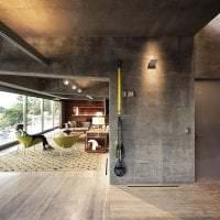 отделка потолка с раствором бетона в комнате фото