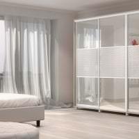 дизайн углового шкафа в спальне из дерева фото