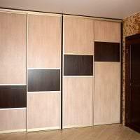 дизайн шкафа купе в коридоре из мдф картинка
