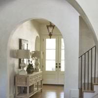красивая арка в стиле коридора фото