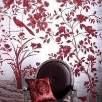 шикарный цвет марсала в стиле прихожей картинка