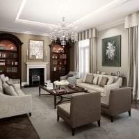 необычный декор квартиры в английском стиле картинка