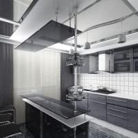 светлый декор квартиры в стиле хай тек фото
