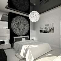 красивый дизайн гостиной в белом цвете картинка