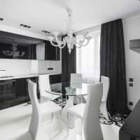 светлый интерьер квартиры в белом цвете фото