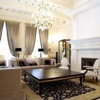 яркий интерьер дома в американском стиле картинка