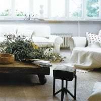 красивый эко дизайн комнаты фото