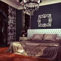 светлый дизайн квартиры в стиле арт деко фото