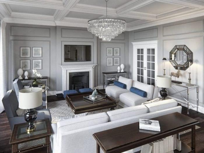 яркий дизайн квартиры в американском стиле