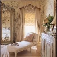 красивый интерьер спальни в французском стиле фото
