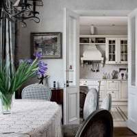 яркий дизайн квартиры в стиле шебби шик картинка