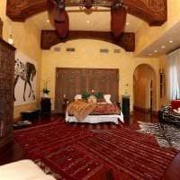 красивый декор квартиры в этническом стиле фото