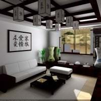 красивый стиль квартиры в японском стиле фото