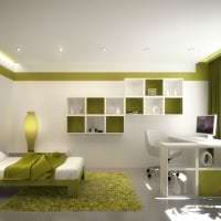 шикарный дизайн спальни в стиле хай тек картинка