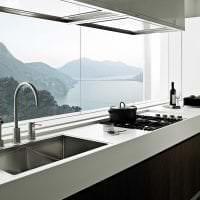 яркий дизайн комнаты в стиле хай тек картинка