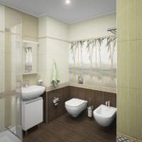 потолок с бамбуком в дизайне спальни фото