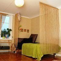 жалюзи с бамбуком в стиле комнаты фото