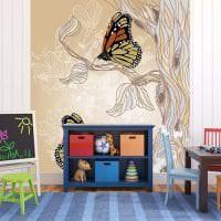 красивые бабочки в декоре детской фото