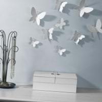 красивые бабочки в дизайне коридора фото