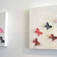 красивые бабочки в интерьере комнаты картинка