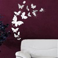необычные бабочки в декоре коридора фото