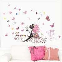 необычные бабочки в стиле спальни картинка