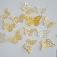 красивые бабочки в интерьере коридора фото