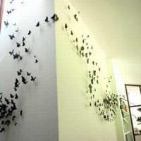 красивые бабочки в дизайне детской фото