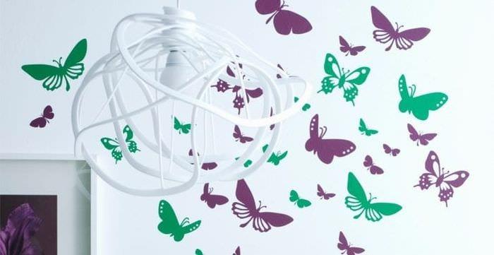красивые бабочки в стиле детской