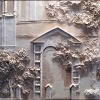 красивый декор квартиры с барельефом картинка